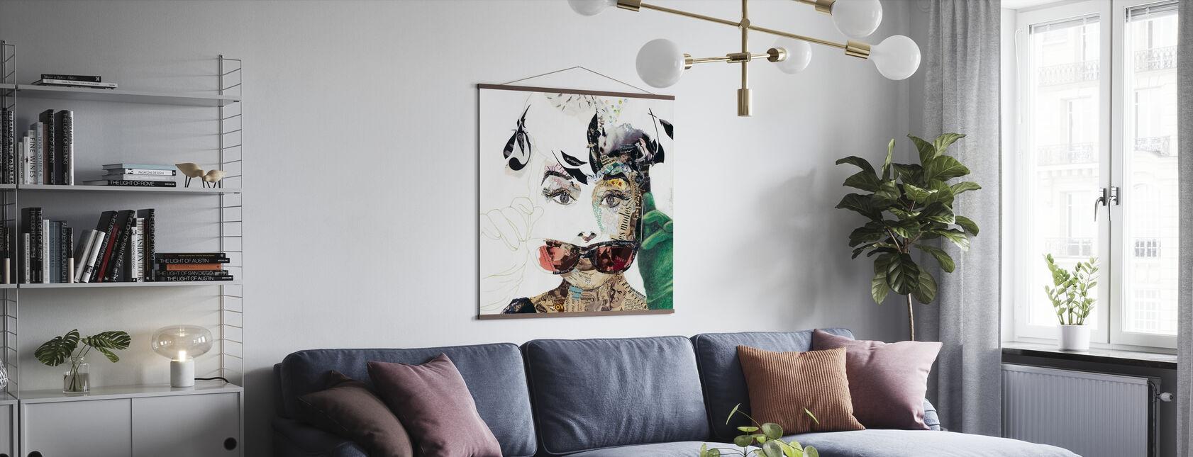 Desayuno en Tiffany's - Collage - Póster - Salón