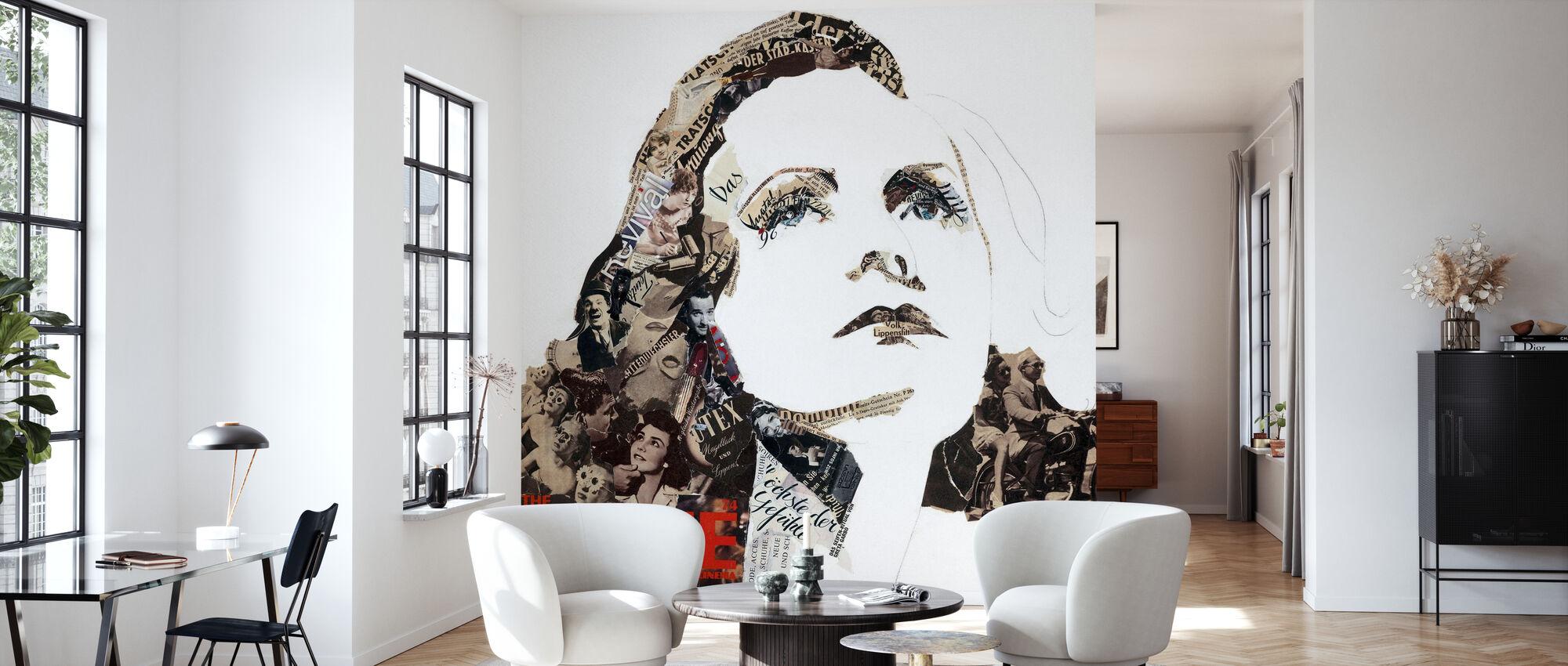 Greta - Wallpaper - Living Room