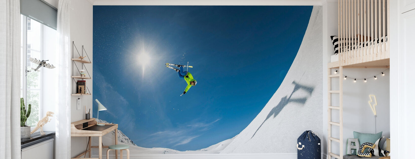 Backcountry Backflip - Wallpaper - Kids Room