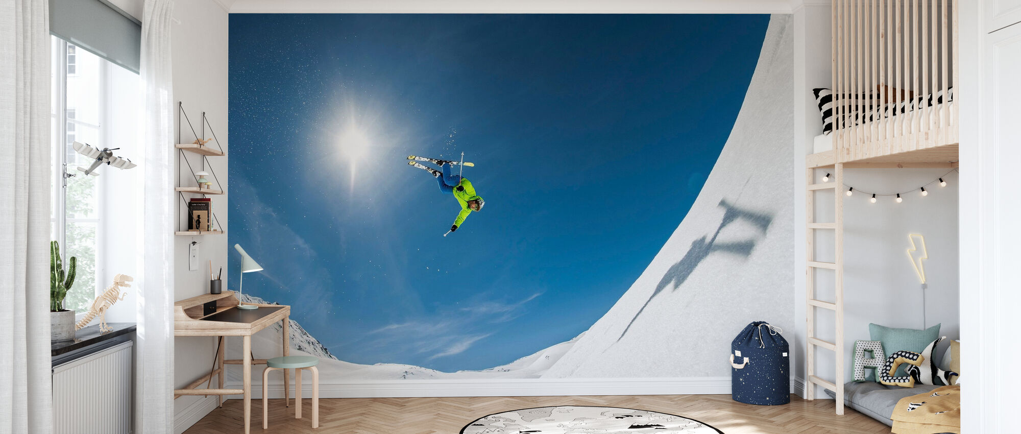 Backcountry Backflip - Behang - Kinderkamer