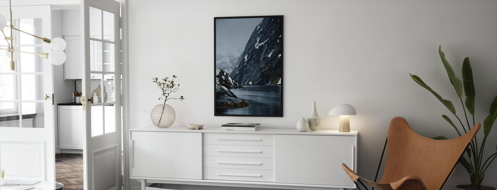 Trollsundet in Lofoten, Norway - Poster - Woonkamer
