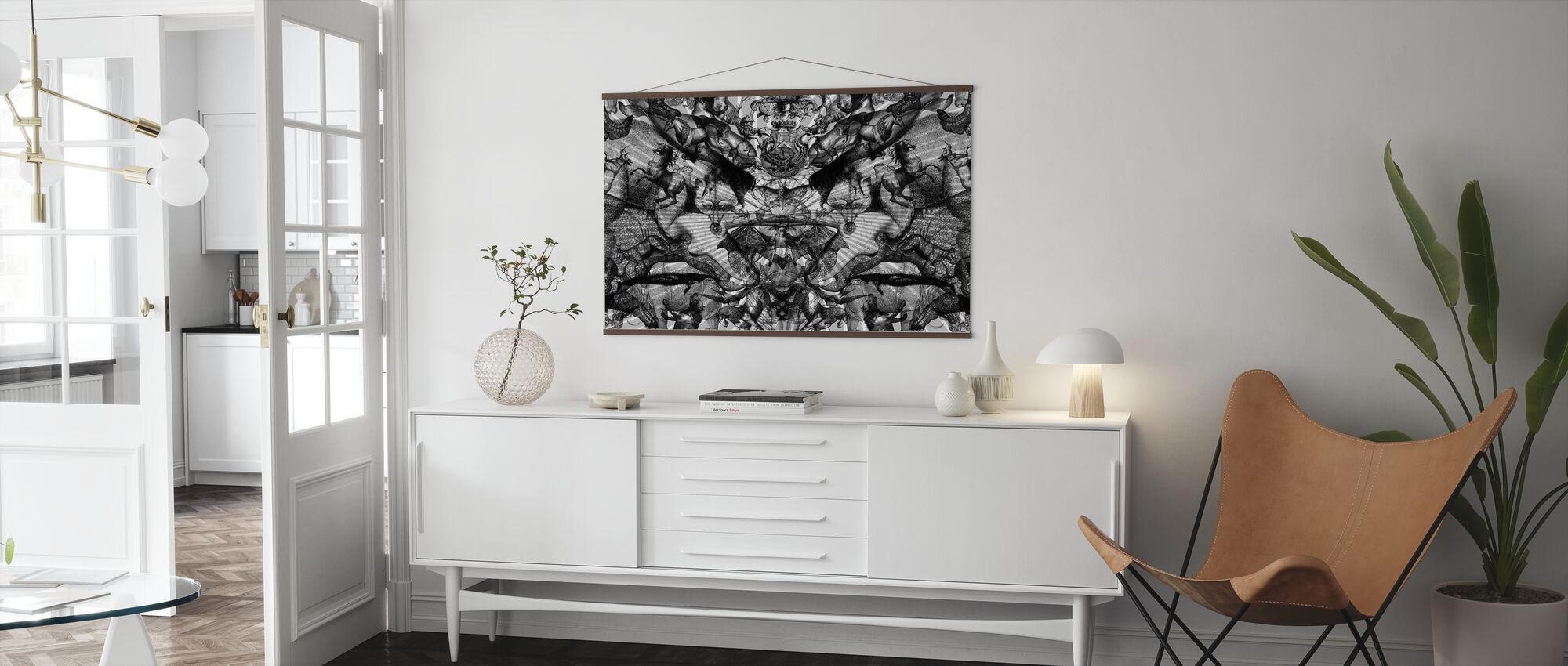 Horschach Circus - Poster - Living Room