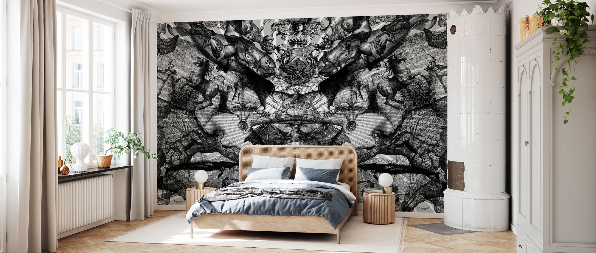 Horschach Circus - Wallpaper - Bedroom