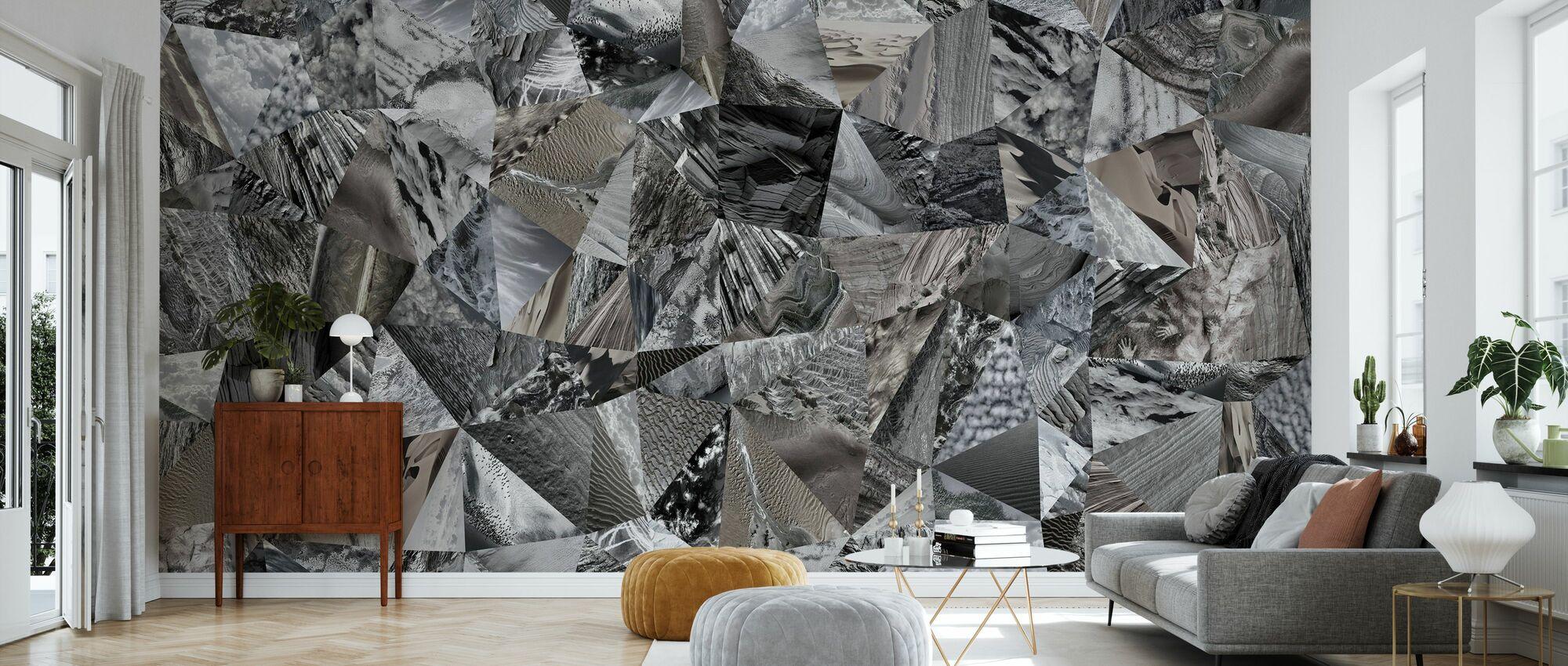Marblelade - Wallpaper - Living Room