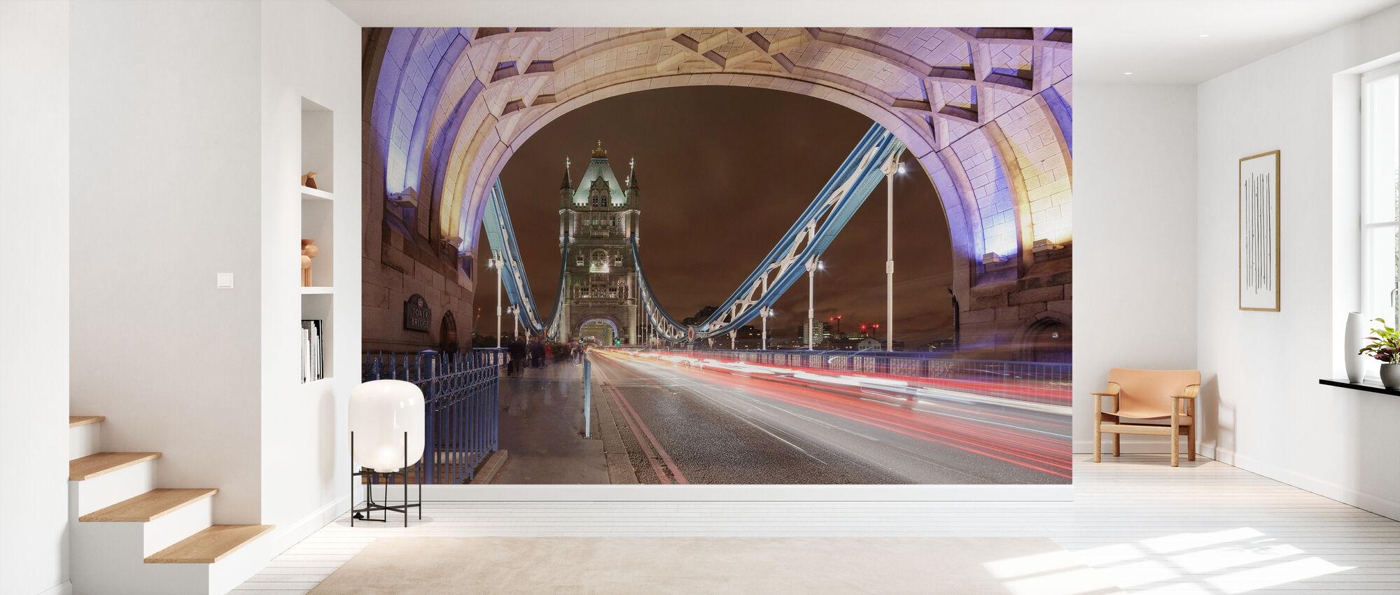 Stående på London Bridge I - Tapet - Gang