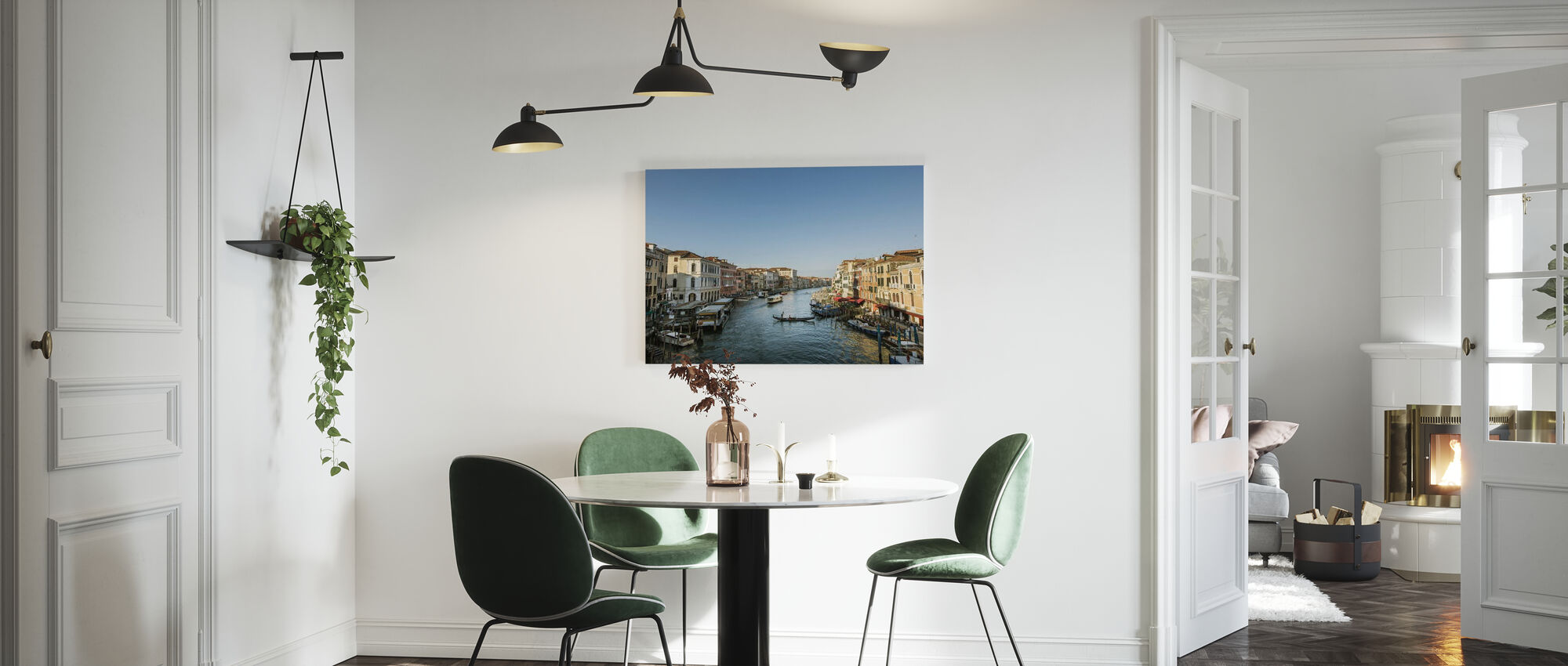 Blue Sky over Venice - Canvas print - Kitchen