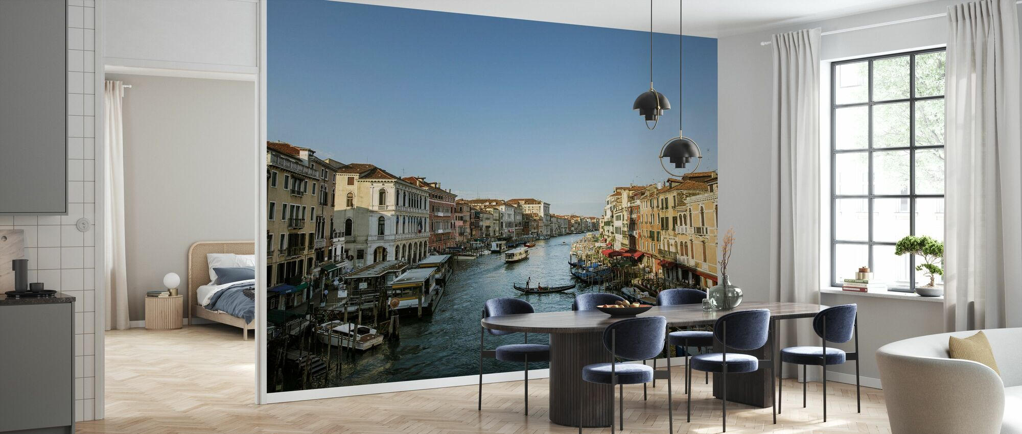 Blue Sky over Venice - Wallpaper - Kitchen