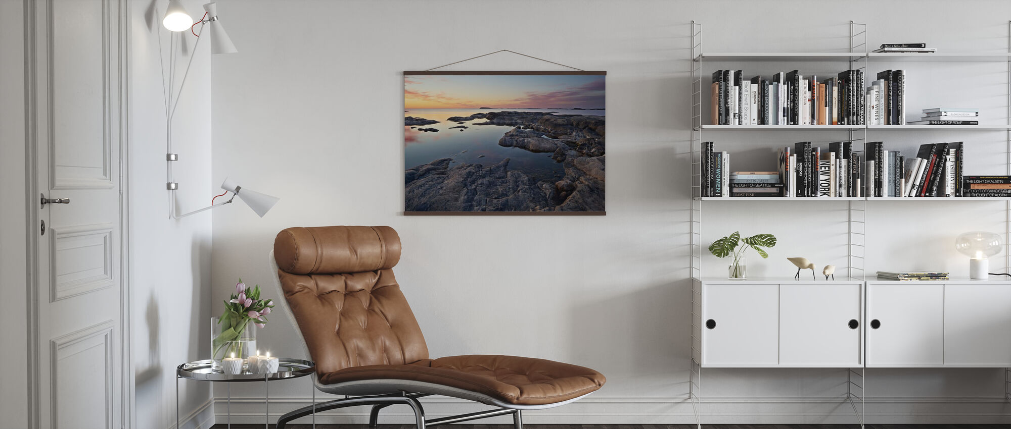 Idyllic Stockholm Archipelago - Poster - Living Room
