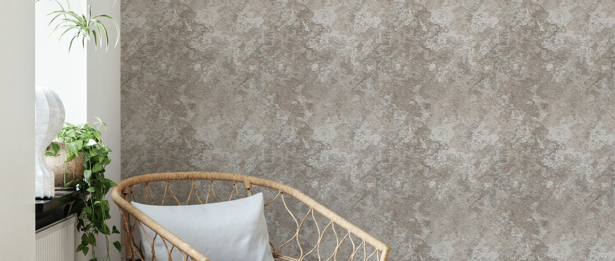 Old Plaster Concrete - Wallpaper - Living Room