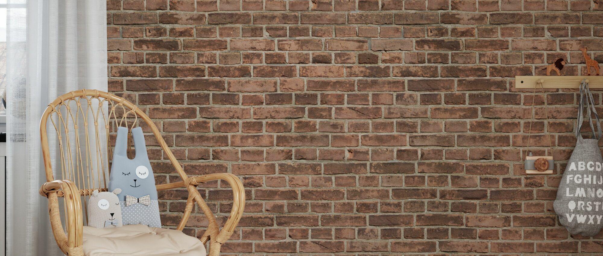 Amsterdam Brick Wall - Wallpaper - Kids Room