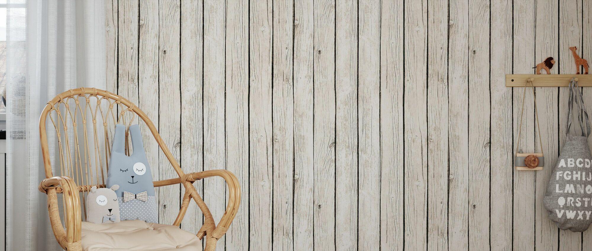 Board Wall - Wallpaper - Kids Room