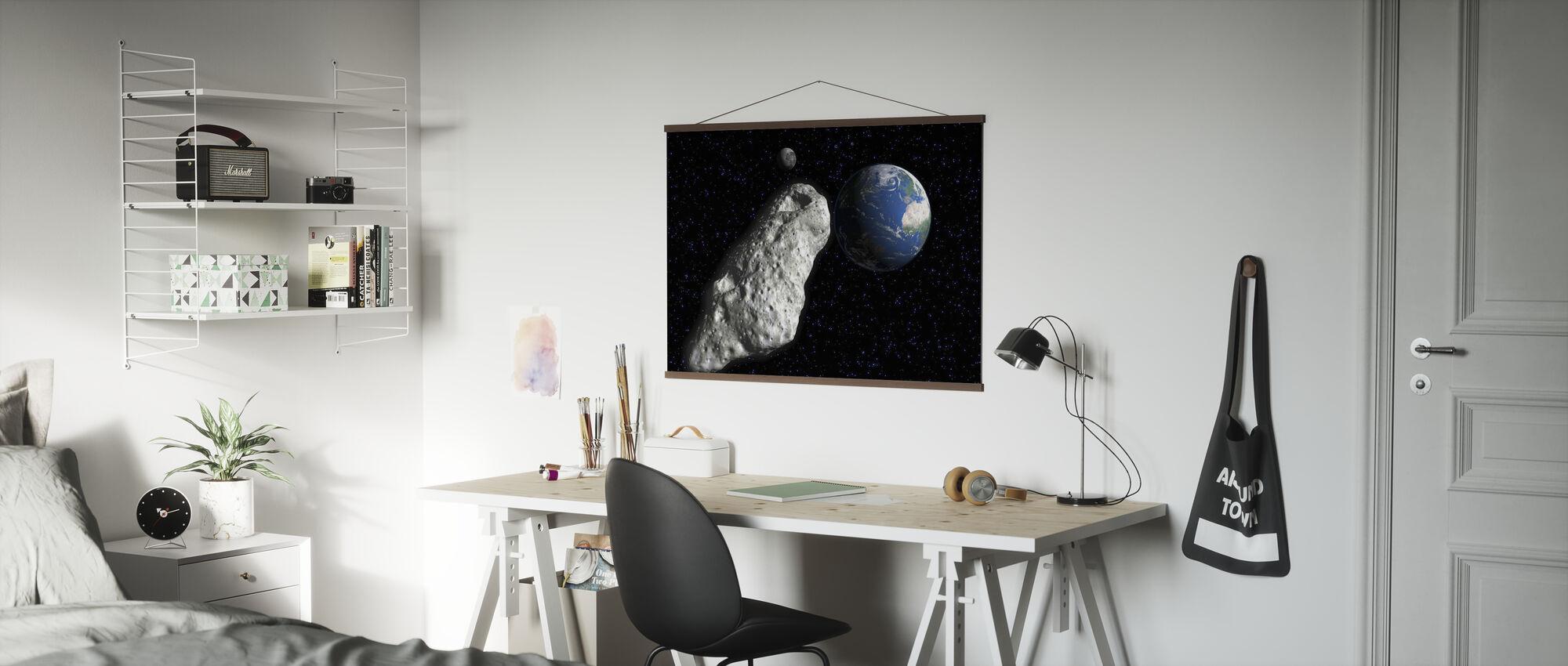 Asteroidi - Juliste - Toimisto