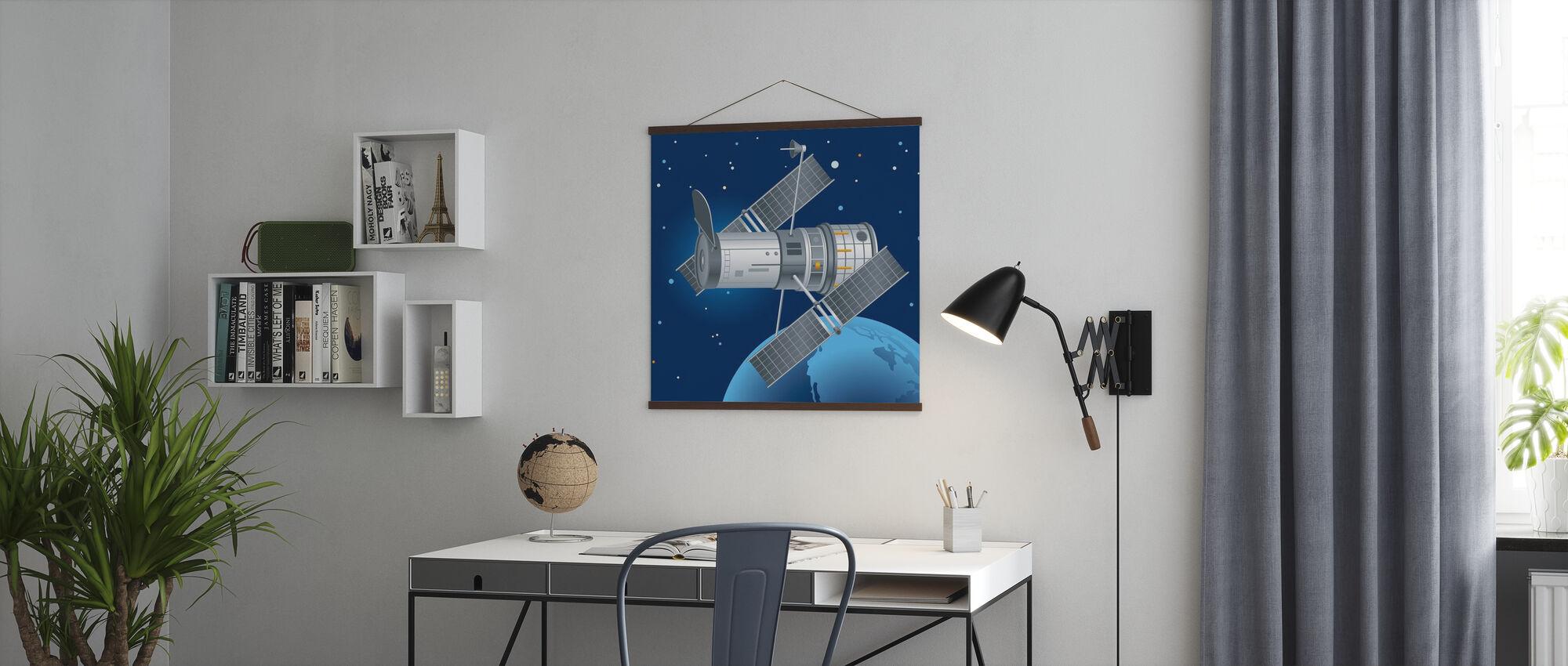 Hubble Teleskooppi - Juliste - Toimisto