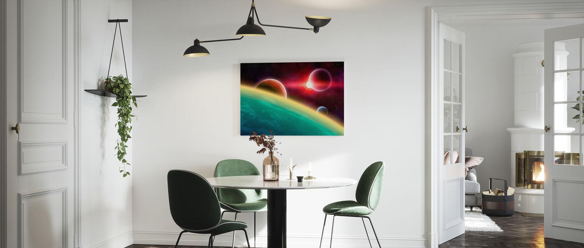 Ytre rom - Lerretsbilde - Kjøkken