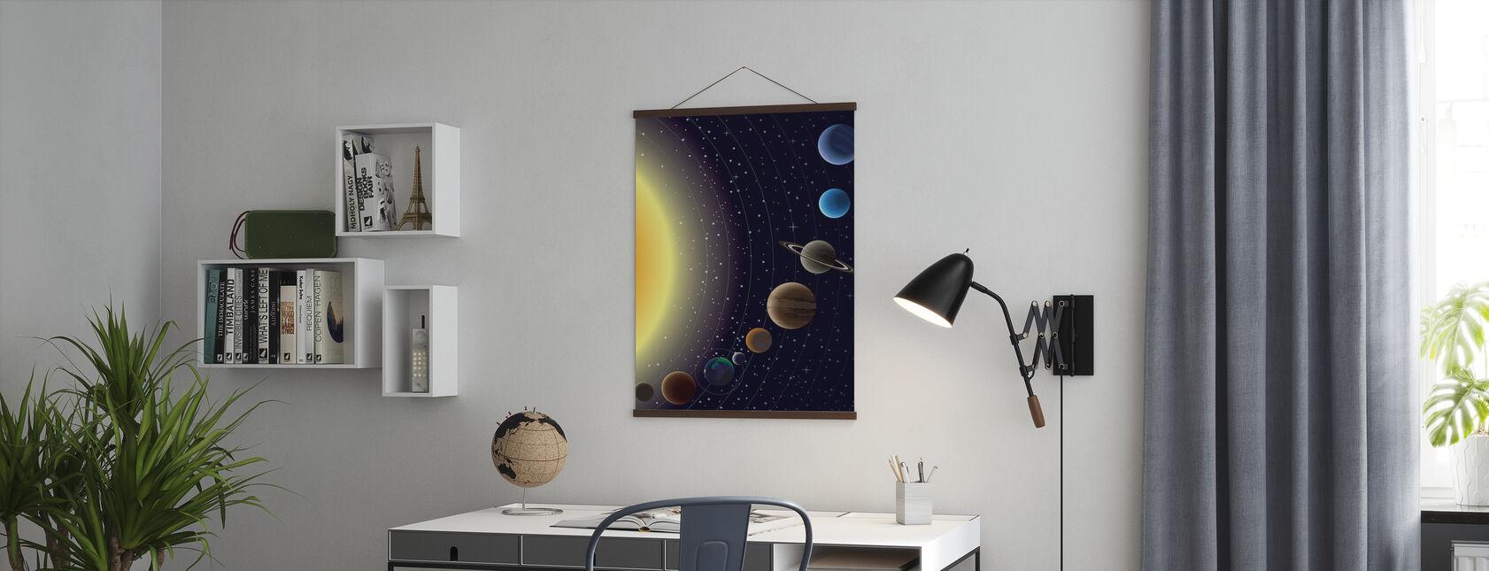 Planeten - Poster - Kantoor