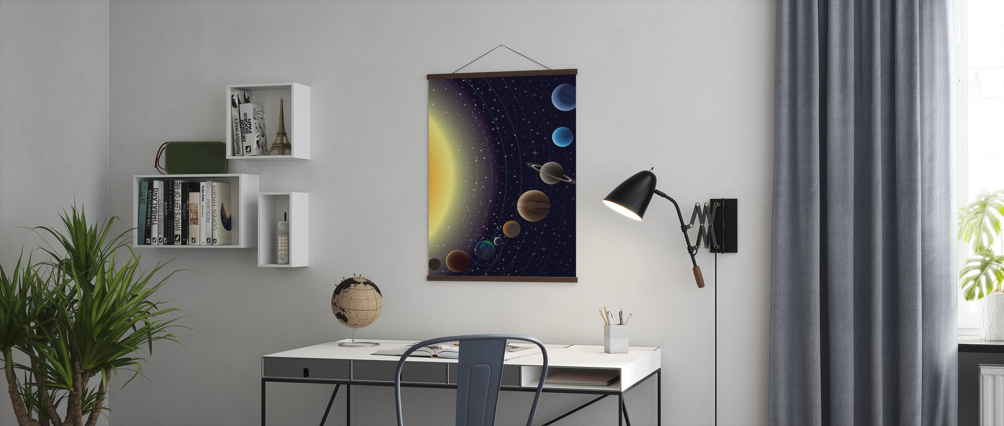 Planets - Poster - Office