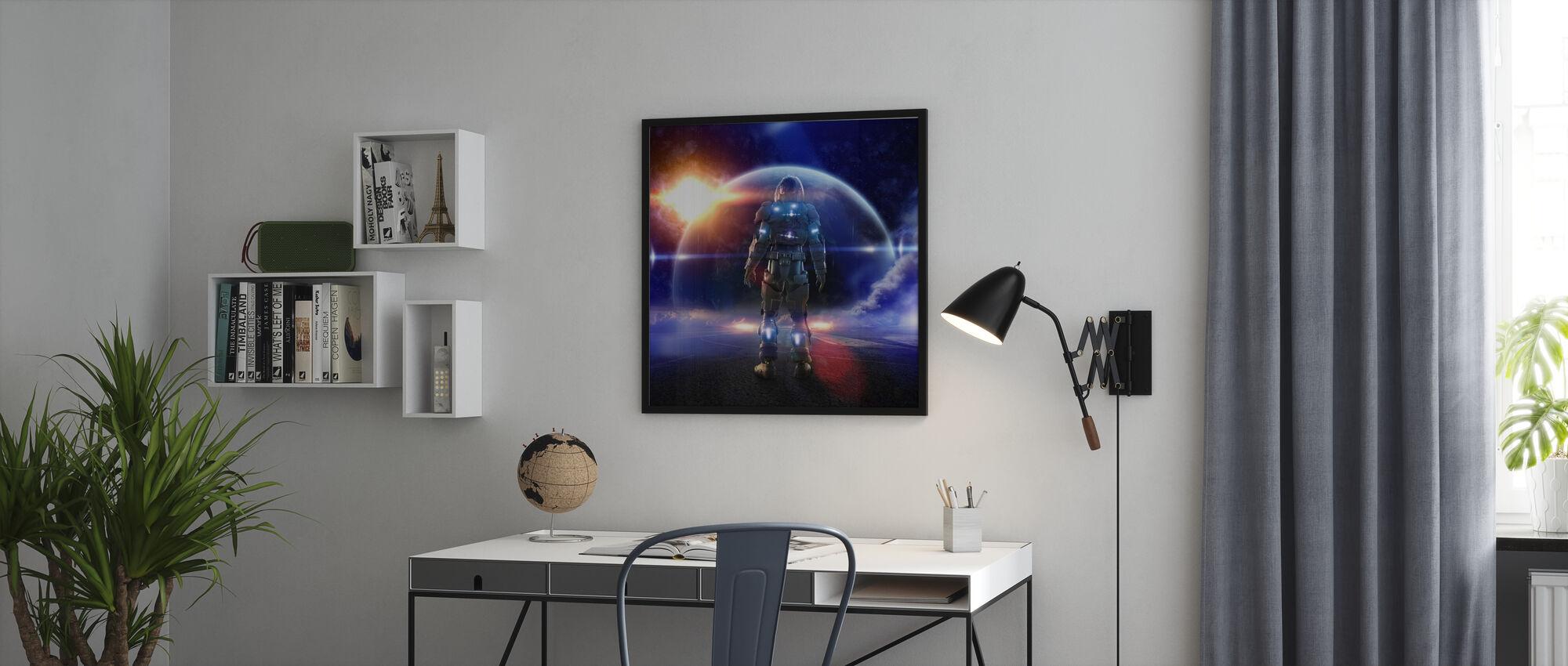 Space Knight - Juliste - Toimisto