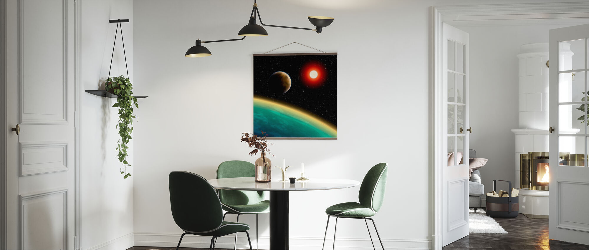 Starry Cosmos - Poster - Kitchen