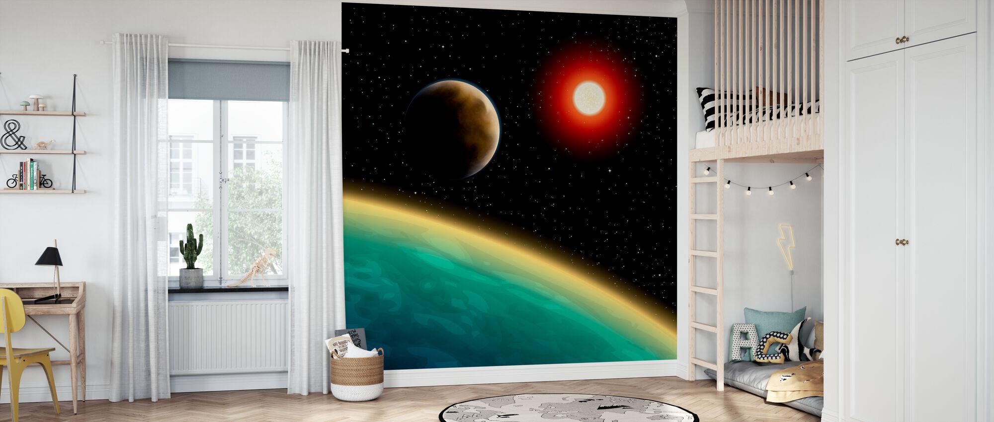 Starry Cosmos - Wallpaper - Kids Room