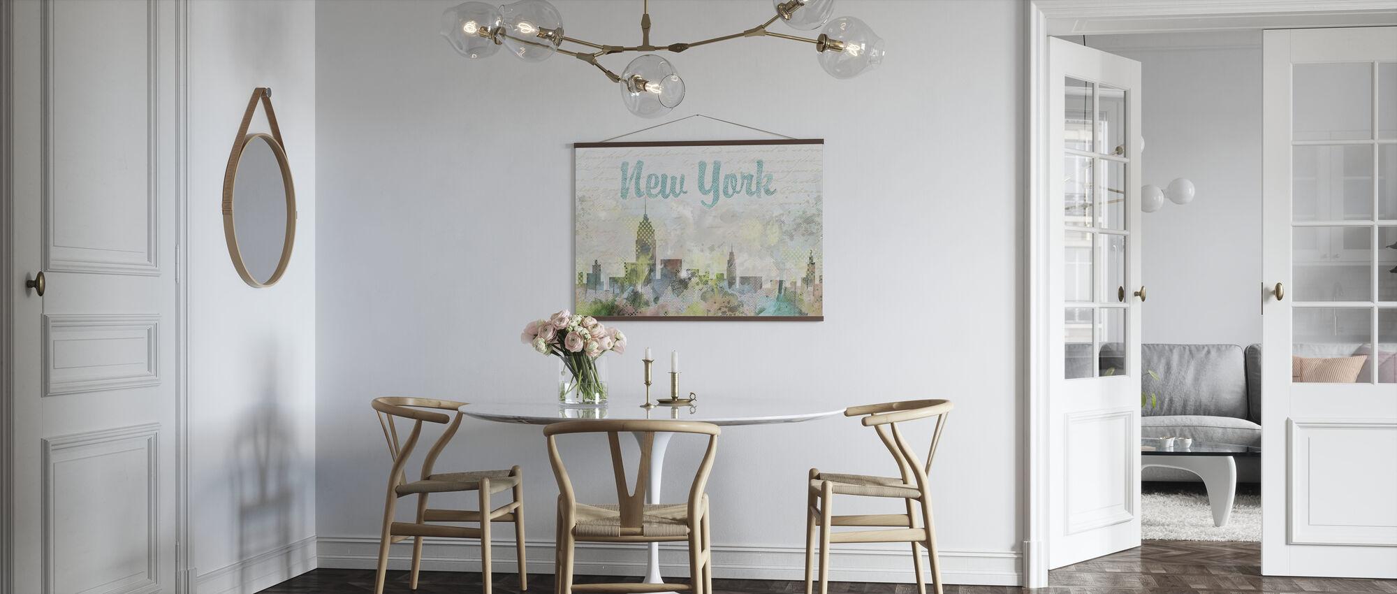 Aquarell New York - Poster - Küchen