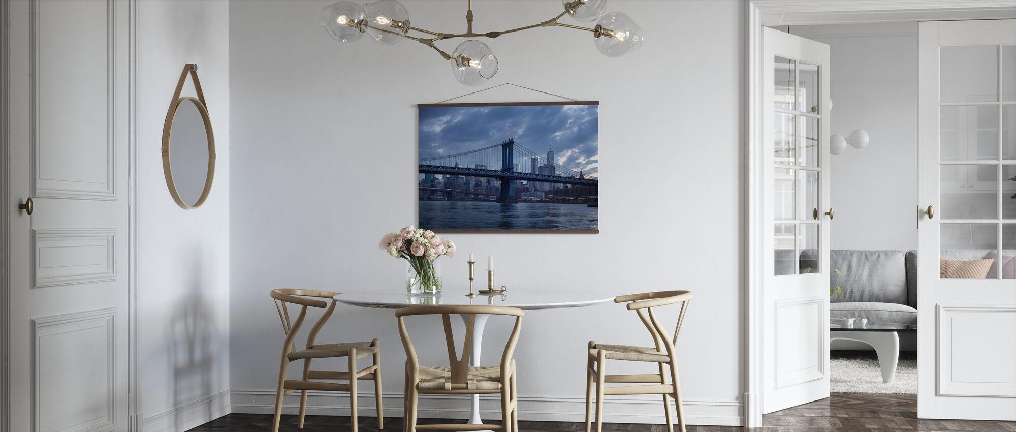 Brooklyn Bridge og Manhattan Bridge - Plakat - Kjøkken