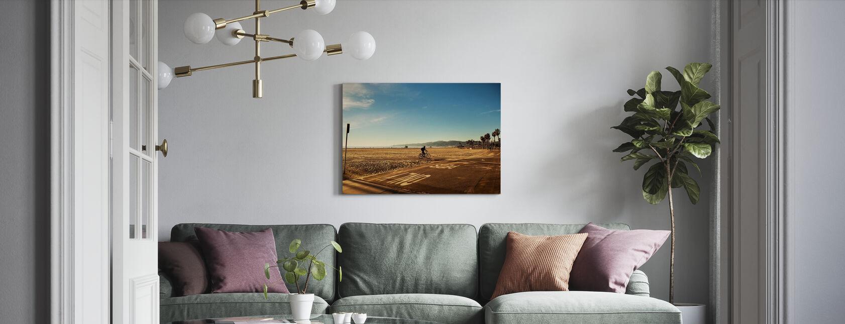 Venice Beach, Los Angeles - Canvas print - Living Room