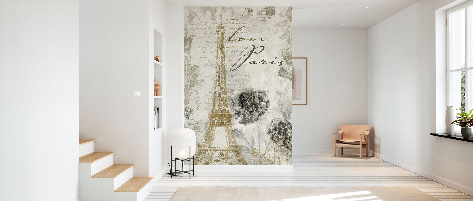 Love Paris - Wallpaper - Hallway