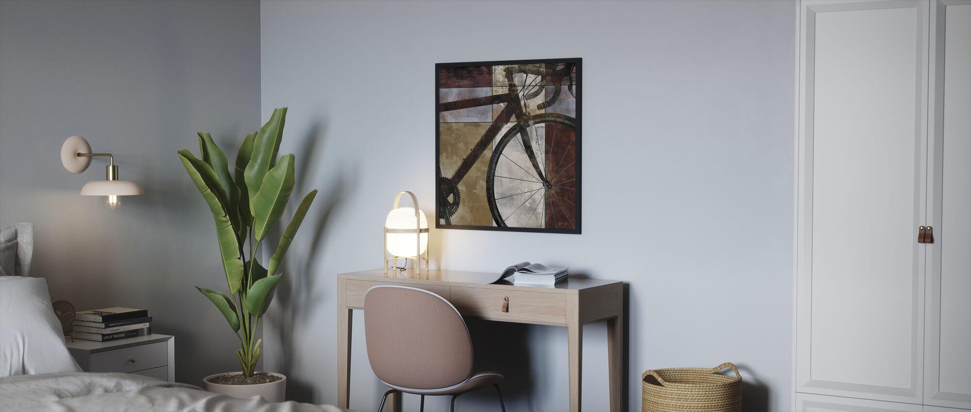 Cykel Kunst - Plakat - Soveværelse