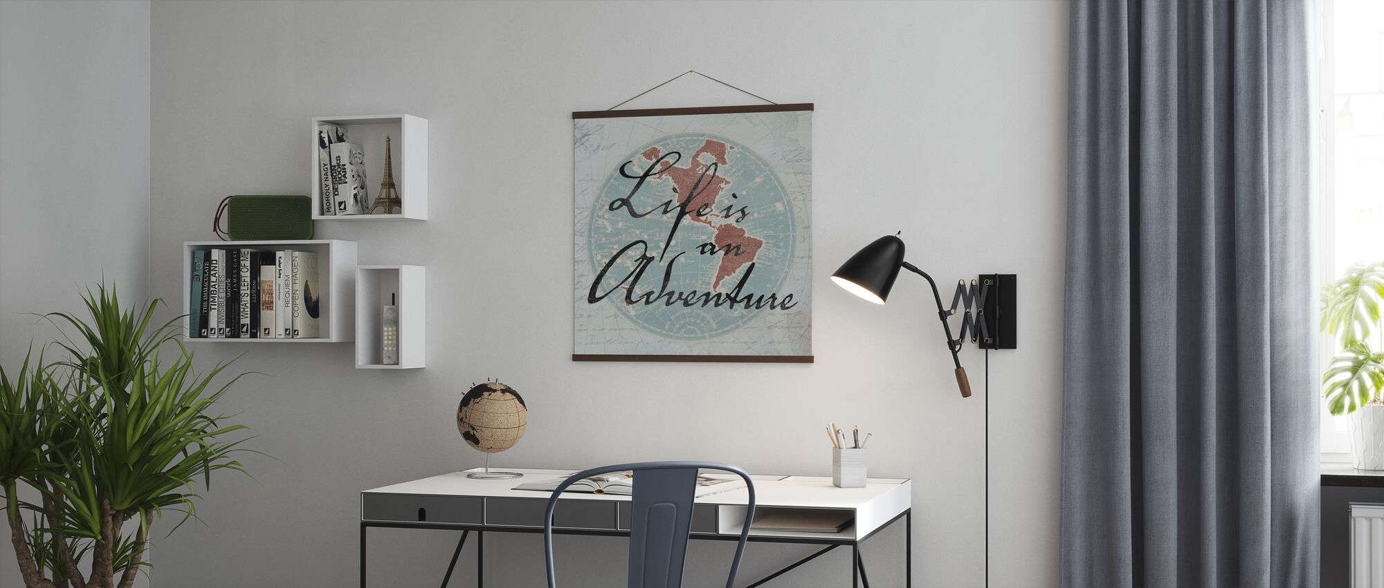 Life is an Adventure - Poster - Office