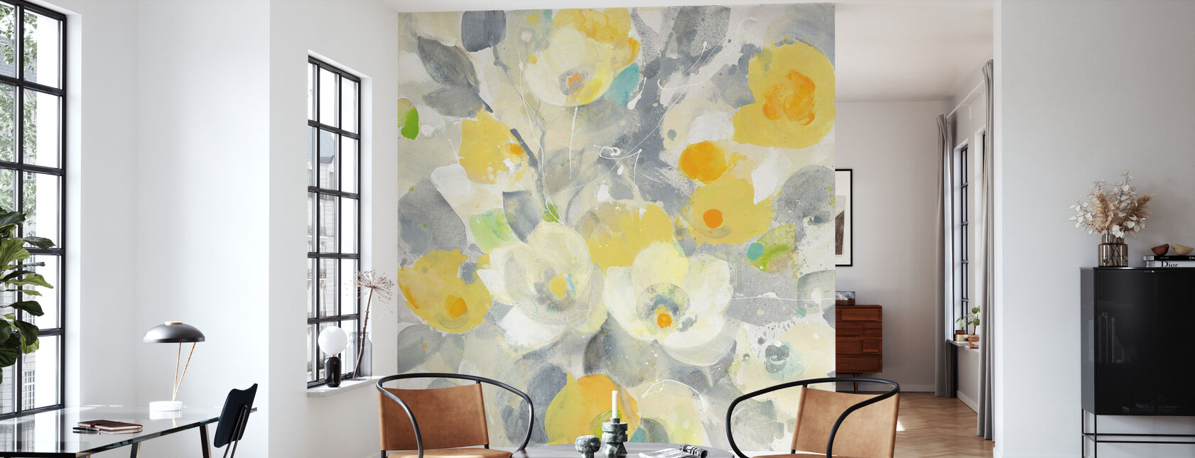 Buttercups - Wallpaper - Living Room