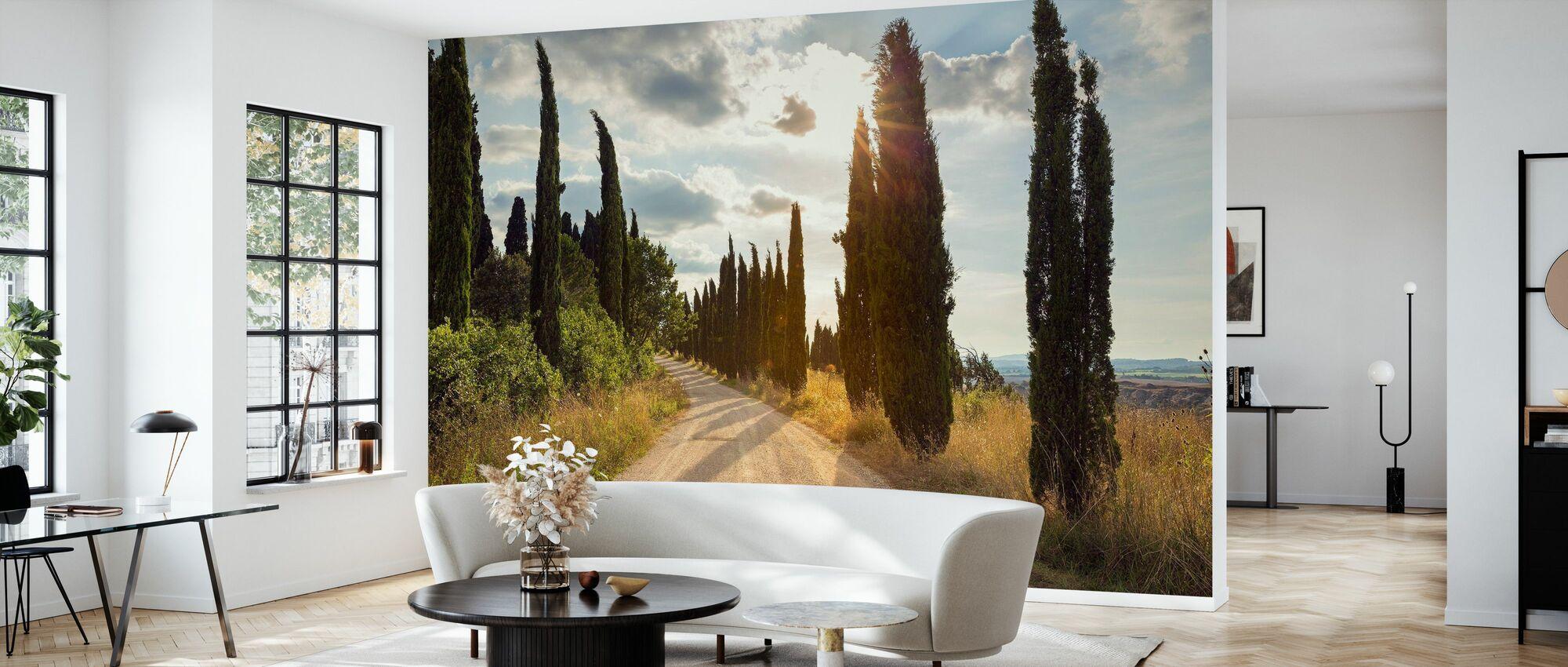 Ponte D´arbia, Toscana - Wallpaper - Living Room