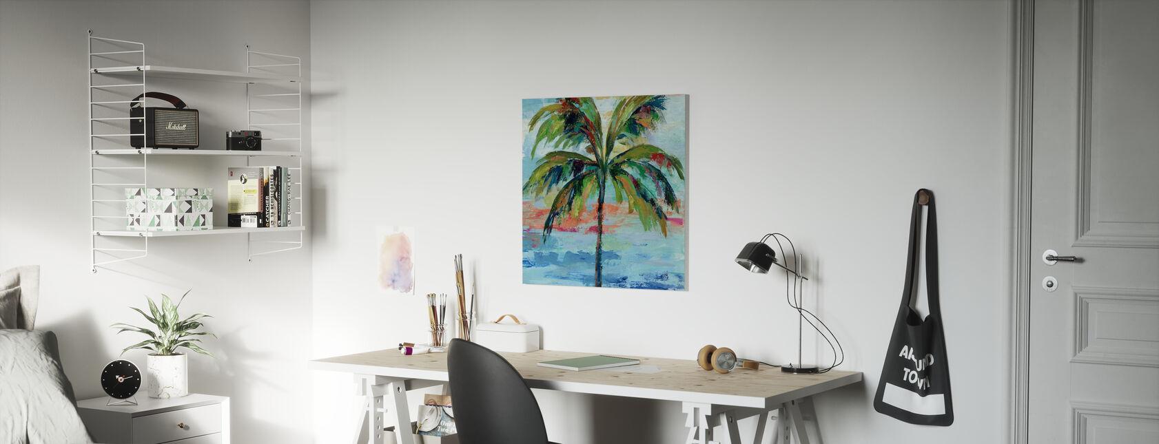 Kalifornien Palm I - Canvastavla - Barnrum