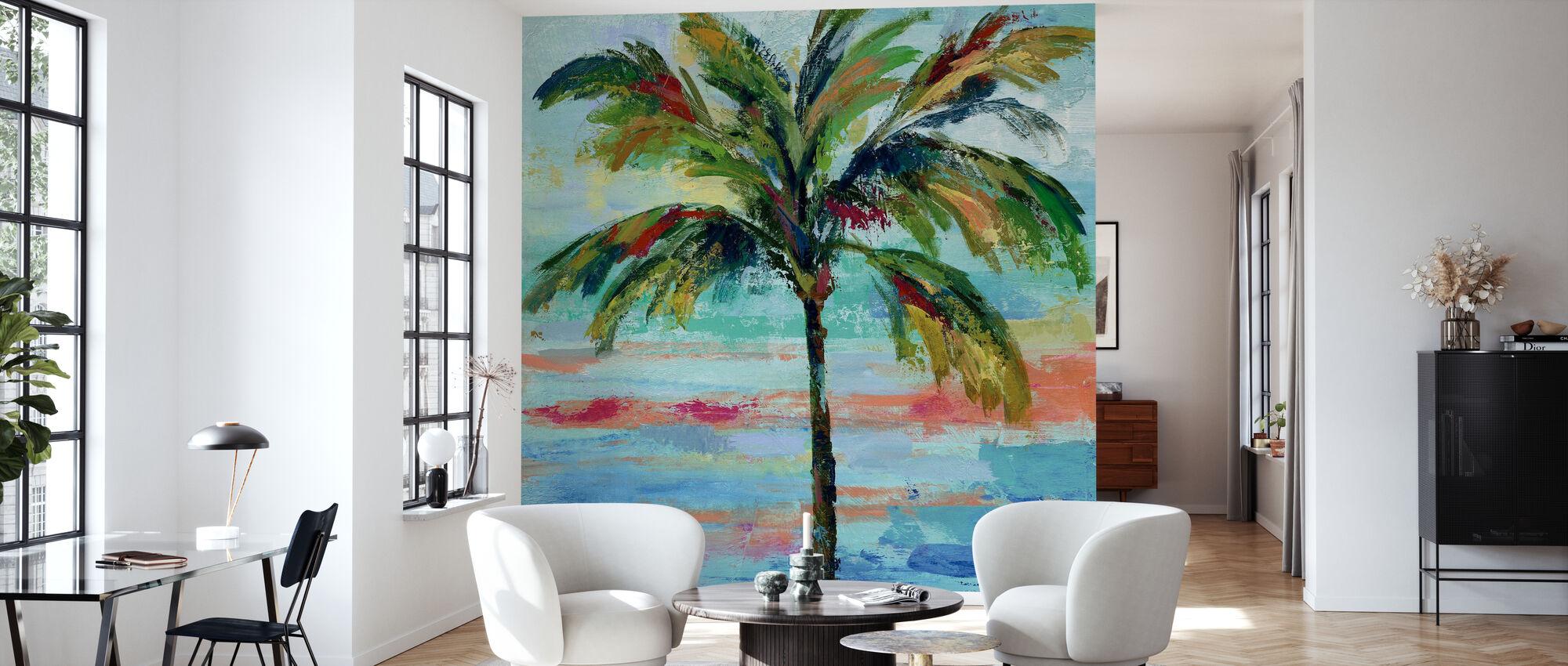 California Palm II - Behang - Woonkamer