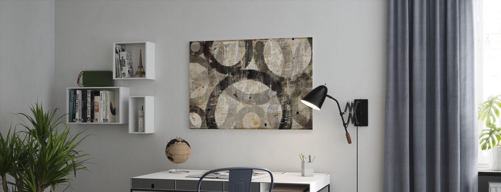 Industriële kringen - Canvas print - Kantoor