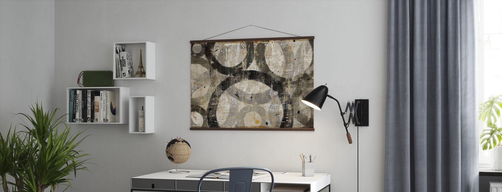 Industriella cirklar - Poster - Kontor