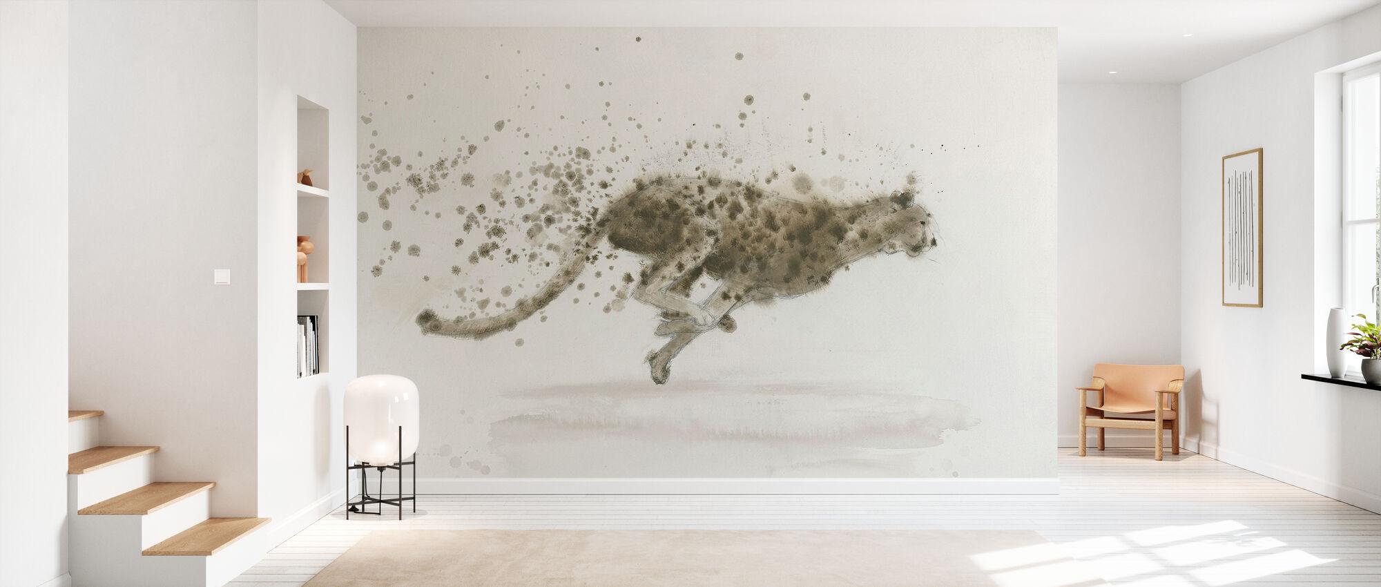 Cheetah - Wallpaper - Hallway