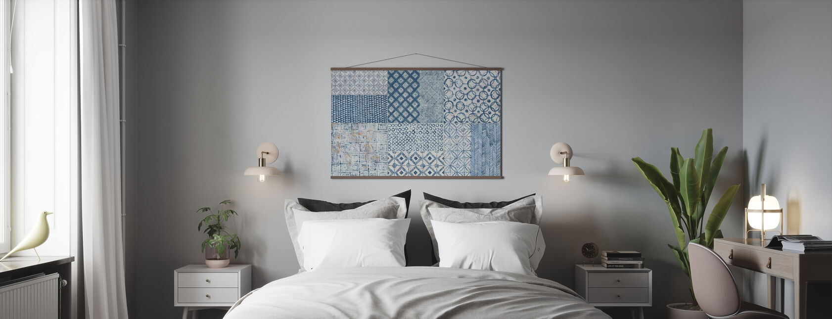 Maki Tile XVII - Poster - Bedroom