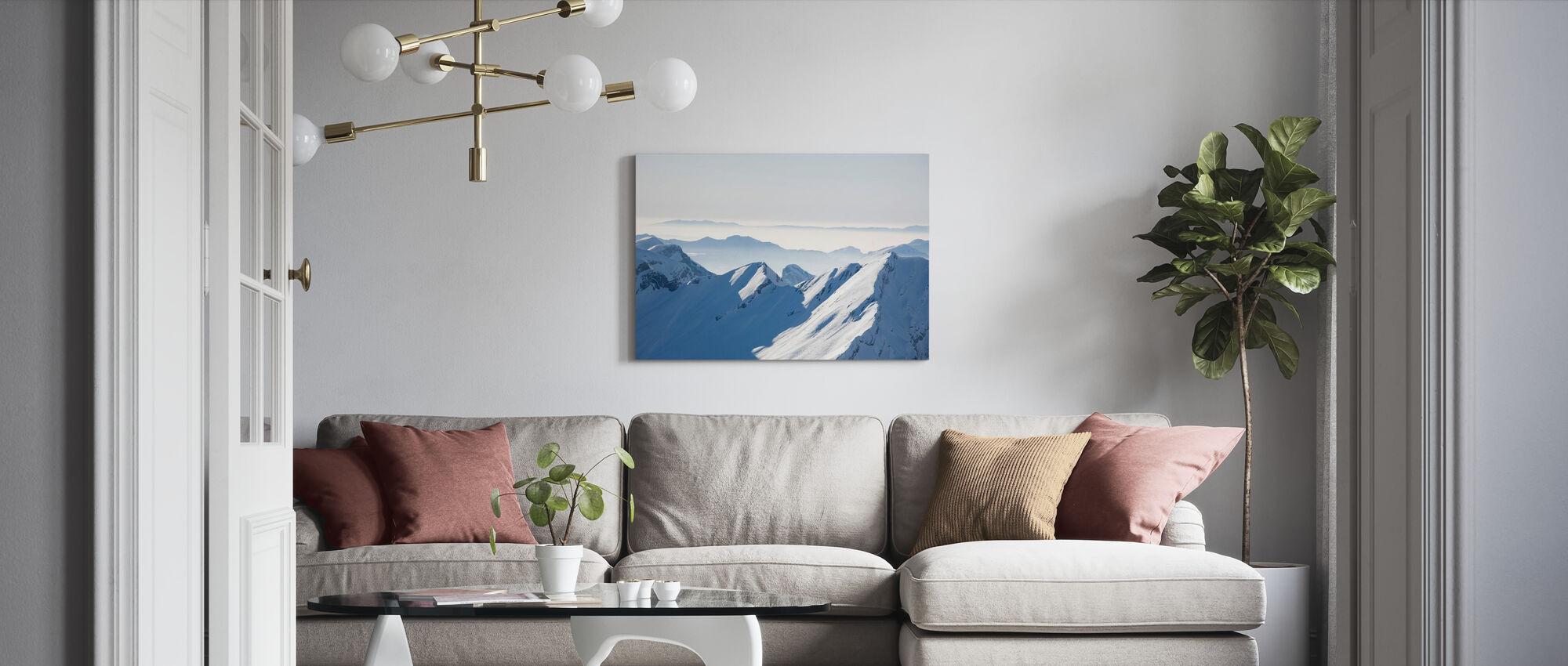 Chamonix Alps I, France - Canvas print - Living Room