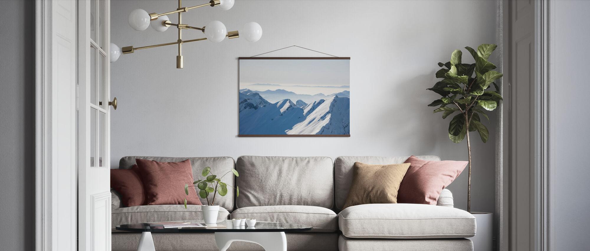 Chamonix Alps I, France - Poster - Living Room