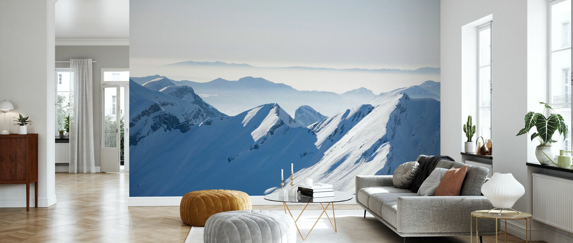 Chamonix Alps I, France - Wallpaper - Living Room