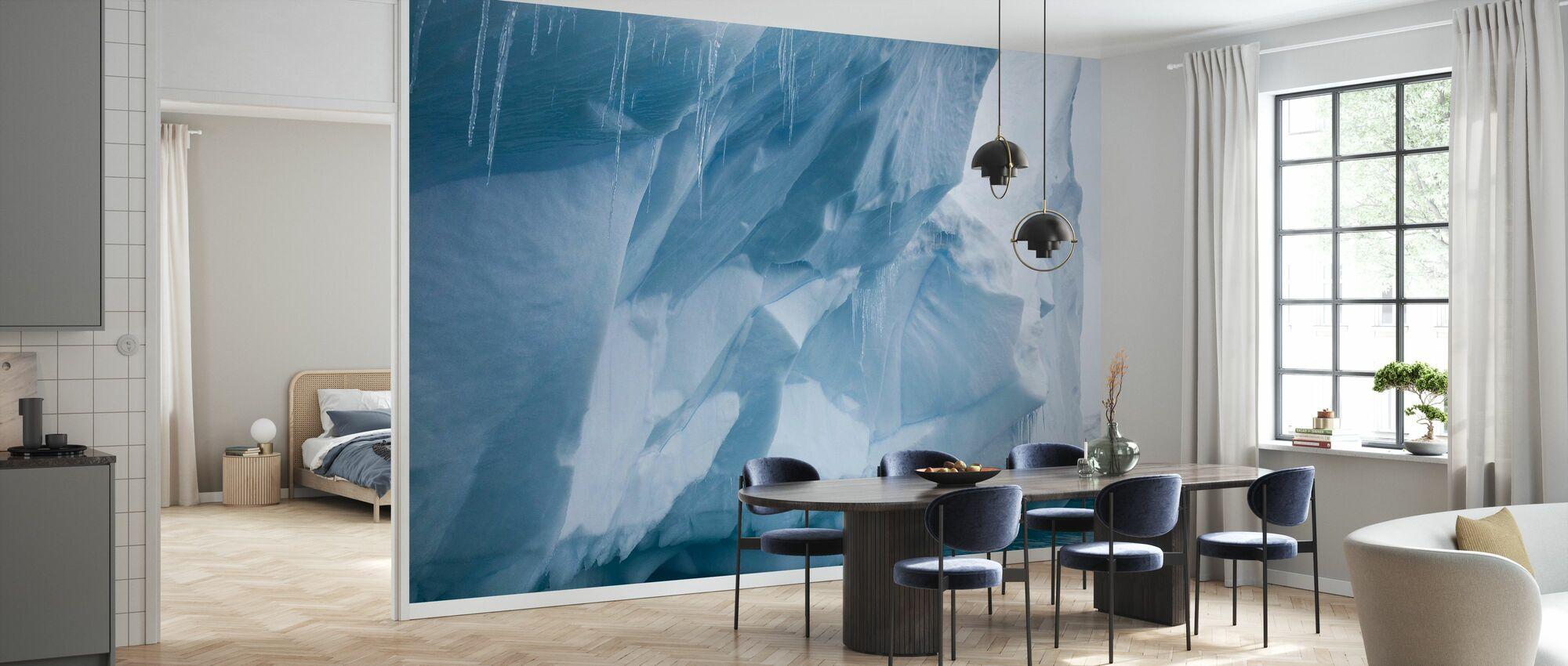 Icicle in Antarctica - Wallpaper - Kitchen