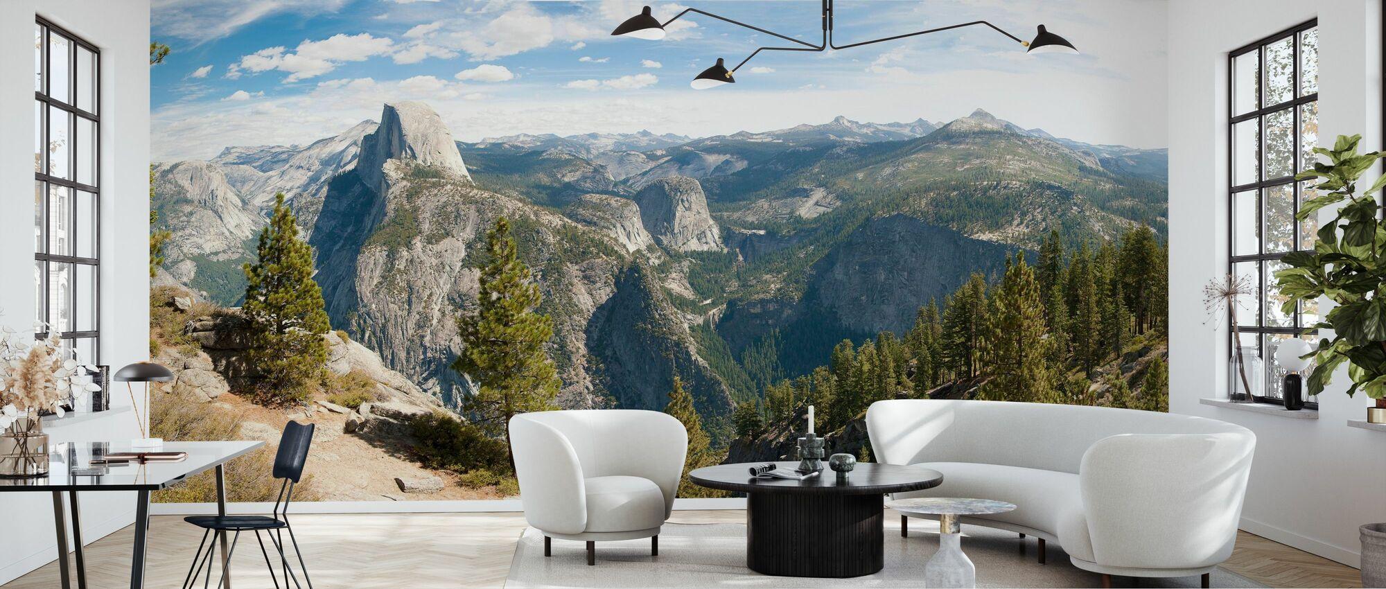 Yosemite park, California - Wallpaper - Living Room
