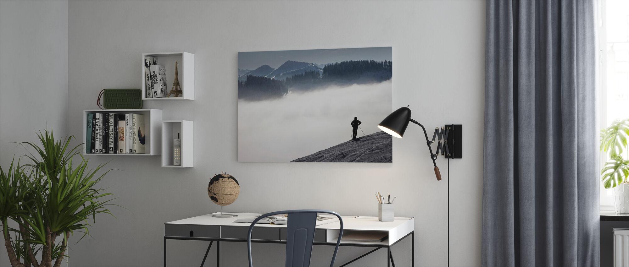 Oostenrijkse Alpen - Canvas print - Kantoor