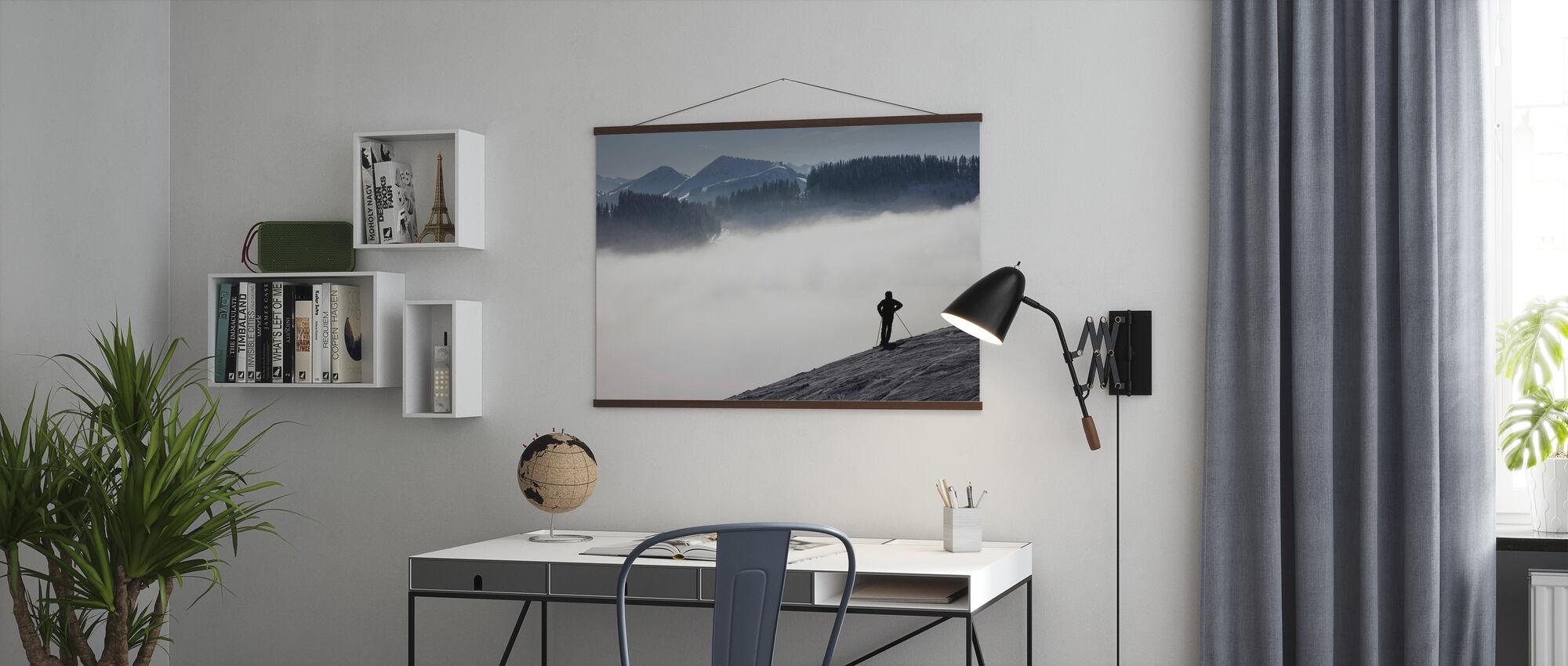 Austrian Alps - Poster - Office
