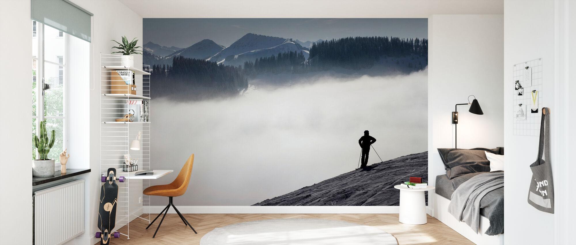 Austrian Alps - Wallpaper - Kids Room