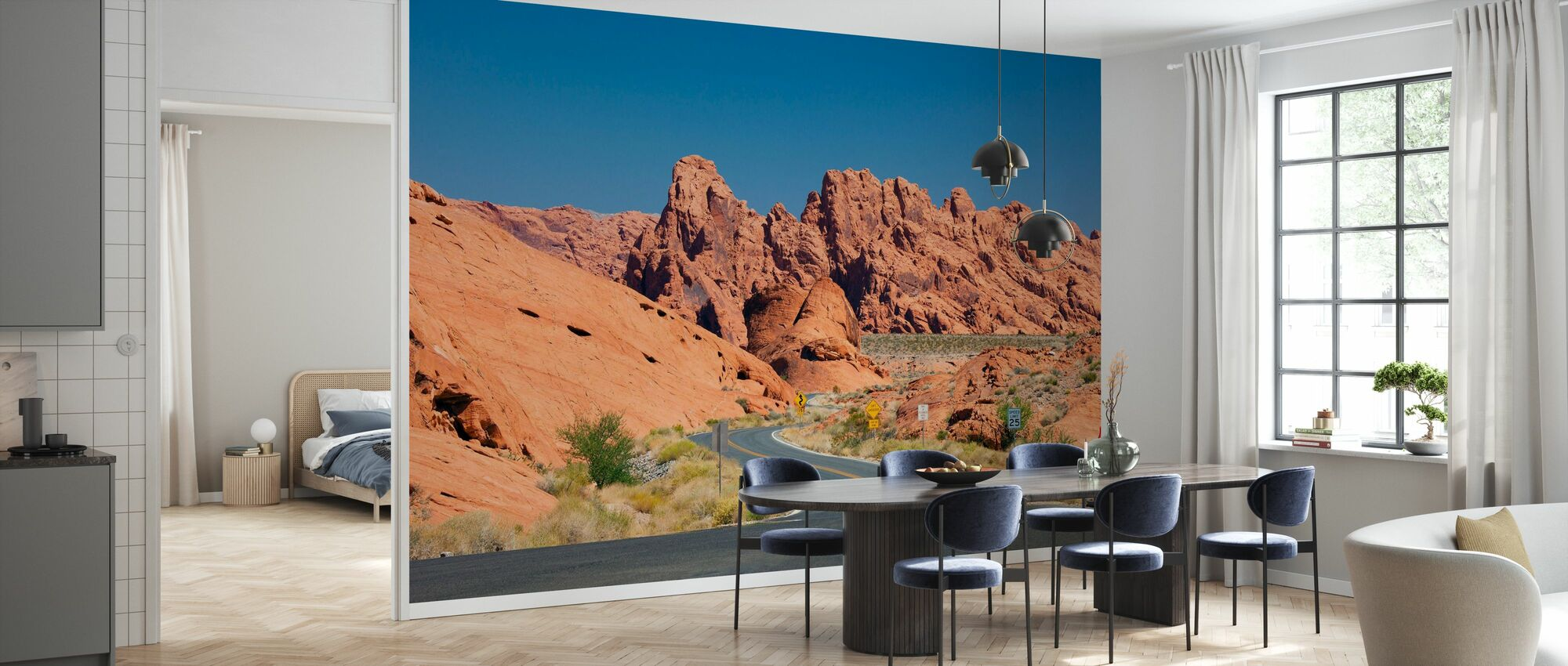 Valley of Fire in Nevada, USA - Wallpaper - Kitchen