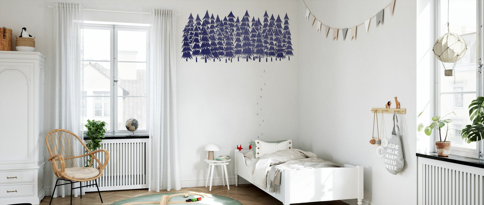 Alone in the Forest - Wallpaper - Kids Room