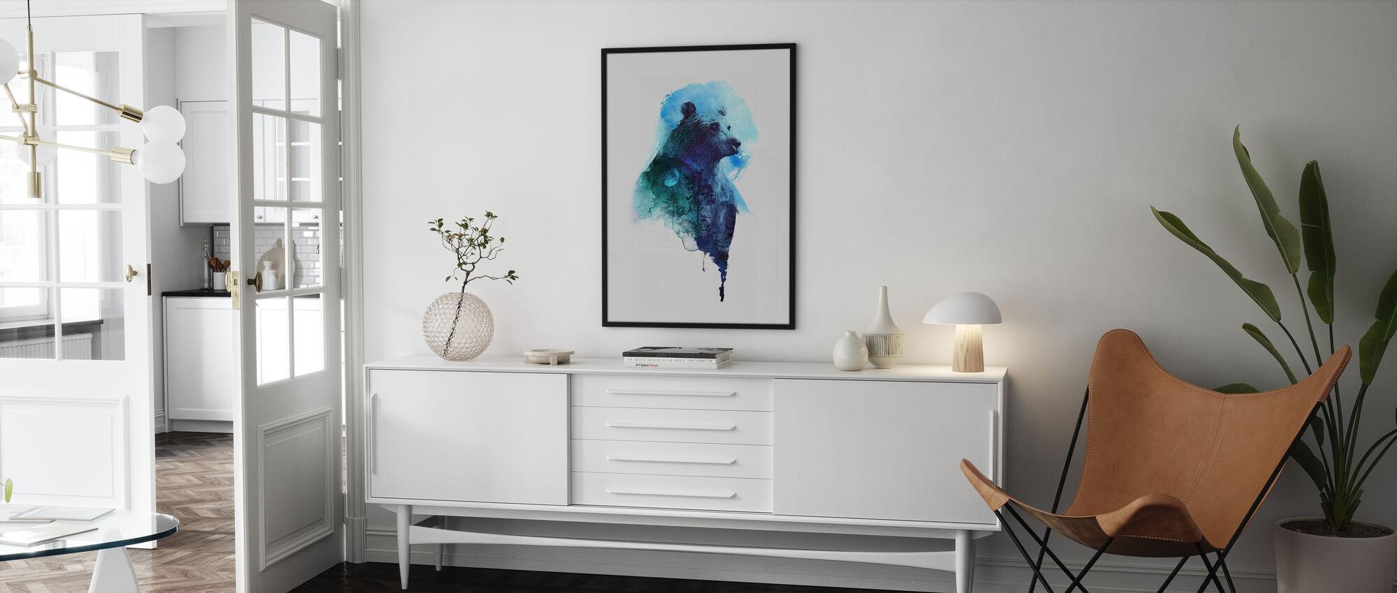 Midnight Bear - Poster - Living Room
