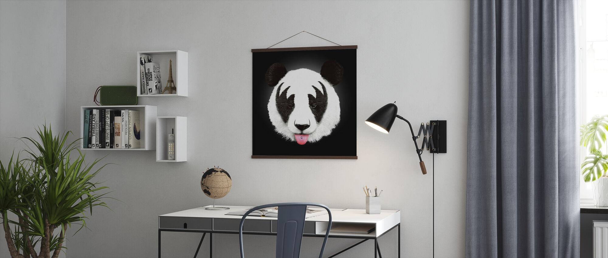Kiss of a Panda - Poster - Office