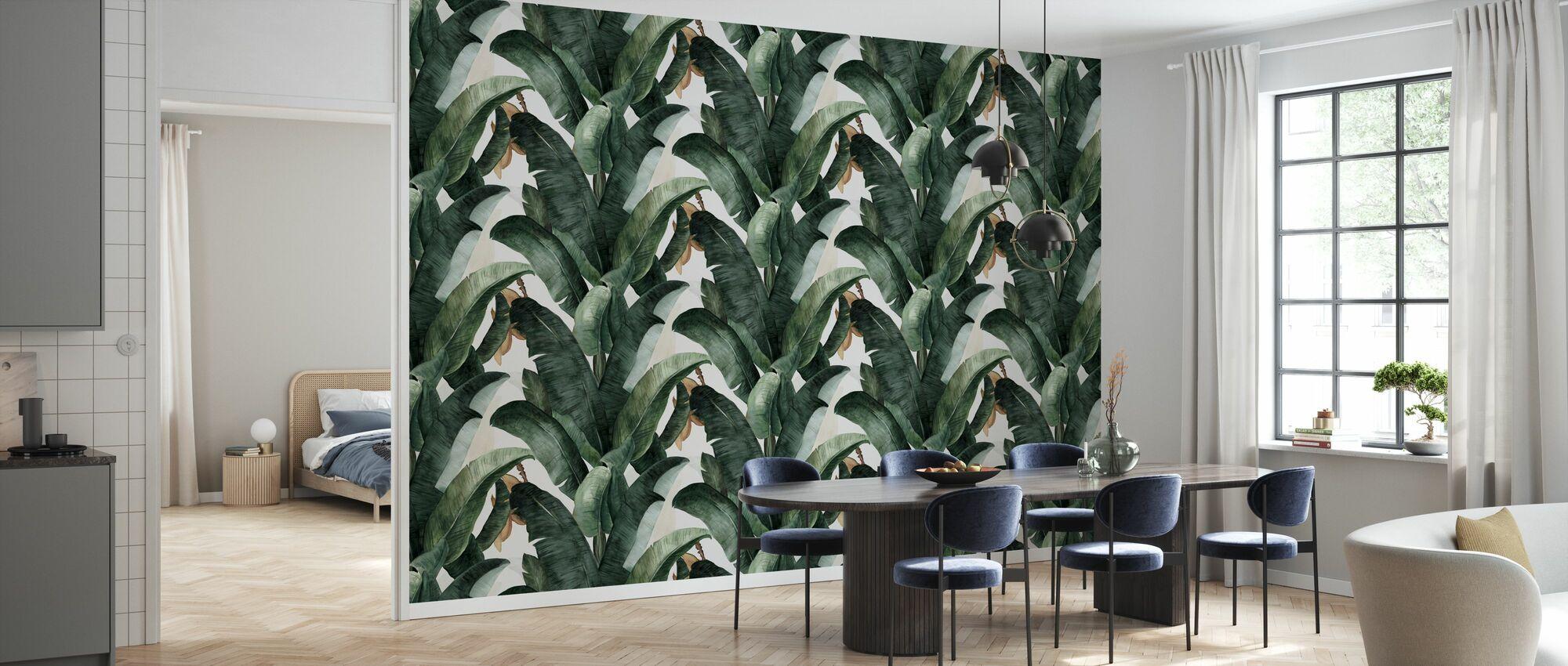 Botánica Plátano - Papel pintado - Cocina